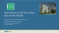 Innovations in Fall Prevention: Beyond the Fall Bundle